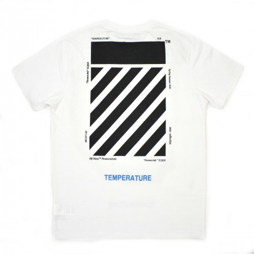 Off-White Temperature Tee White [HOP Batch]